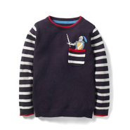MINI Boden Pocket Cotton & Cashmere Sweater 羊绒羊毛混纺毛衣