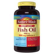 限时高返16%!【中亚Prime会员】Nature Made Omega-3 深海鱼油胶囊 1000mg 320粒