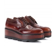 Prada 普拉达 经典款 布洛克厚底鞋