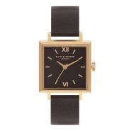 【7.5折】Olivia Burton 复古方形镀金时装腕表 OB16SS01