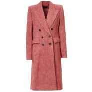 何穗相似款 ISABEL MARANT DOUBLE BREASTED WOOL COAT 双排扣羊毛大衣