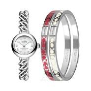 【55专享】Coach 蔻驰 Waverly 系列 14000054 女士时装手表+2个装饰手镯