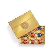 【7折】Lindt 瑞士莲 LINDOR 什锦软心巧克力金色礼盒 13颗