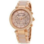 【情人节礼物精选】Michael Kors 迈克高仕 Parker 系列 MK5896 玫瑰金色女士手表