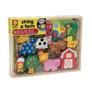 【中亚Prime会员】Alex 爱丽克丝 玩具小型手工农场串珠