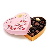 【情人节精选】Godiva 歌帝梵 粉色心形巧克力礼盒 14块