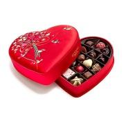 【情人节精选】Godiva 歌帝梵 红色心形中国风刺绣巧克力礼盒 25颗