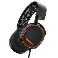 【中亚Prime会员】SteelSeries 赛睿 寒冰 Arctis 5 头戴式游戏耳机 黑色