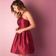【年会美裙备起来】VERO MODA 正红连衣蓬蓬裙