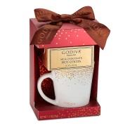 Godiva 歌帝梵 牛奶巧克力热可可&马克杯礼盒 红色 31g