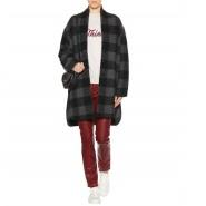 【袁泉同款】Isabel Marant Etoile 灰色格纹大衣