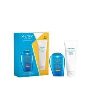 Shiseido 资生堂 新漾水动力小蓝瓶防晒霜SPF50+晒后修复身体乳100ml