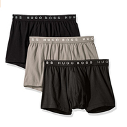 【中亚Prime会员】BOSS Hugo Boss 男士平角内裤3条装