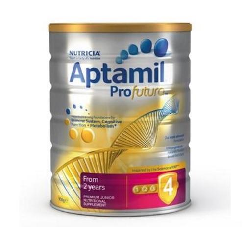 【立減3澳+免郵中國】Aptamil 澳洲愛他美 白金裝嬰幼兒配方奶粉 4段 900g