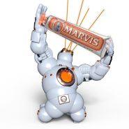 Marvis 牙膏中的爱马仕
