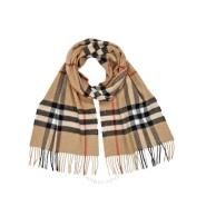 【额外立减$30】Burberry 博柏利 Heritage 系列 BUR3929522 经典格子羊绒围巾
