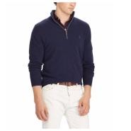 Ralph Lauren 拉夫劳伦 可机洗 男士100%纯羊绒毛衣