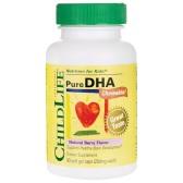 ChildLife 童年時光 精純DHA軟膠囊 莓果味 90粒