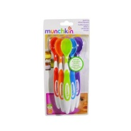 【立减$6+免邮中国】Munchkin 麦肯奇 满趣健 婴儿彩色软头勺 喂水勺 6支装