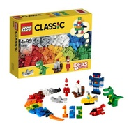 【限时好价+免邮中国】Lego 乐高 经典玩具积木 303粒 可拼小恐龙、小火箭和小轮船等造型 4-99岁