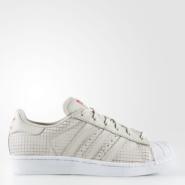 5.5以上码还在!Adidas 阿迪达斯 SUPERSTAR 大童休闲运动鞋 成人可穿