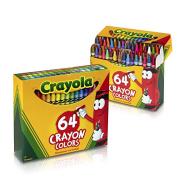 【中亚Prime会员】Crayola 绘儿乐 彩色蜡笔 64支*2盒