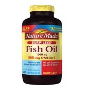 【买1送1】Nature Made 莱萃美 鱼油软胶囊 1200mg 200粒大包装
