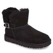 6码有货~UGG® Karel Boot 黑色短款雪地靴