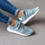 原价$120!adidas 阿迪达斯 Primeknit Flashback 女款运动鞋