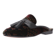小码福利~【中亚Prime会员】Sam Edelman Paris 天鹅绒中性穆勒平底鞋