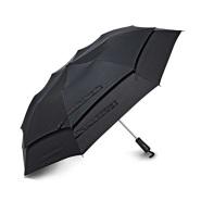 【中亚Prime会员】Samsonite 新秀丽 挡风自动伞 黑色