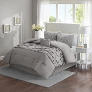 【美亚自营】Comfort Spaces 床品四件套 送装饰枕头 Full/Queen size