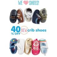 宝宝的第一双鞋!Carter's 卡特:新款童鞋