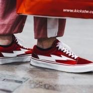 【杨幂新宠】闪电席卷时尚圈,网红鞋 Revenge x Storm 闪电帆布板鞋