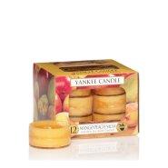 白菜价!【中亚Prime会员】Yankee Candle 扬基蜡烛 香薰无烟蜡烛12块 芒果桃子香味