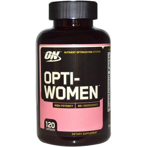 【2件0稅免郵】Optimum Nutrition 女性復合維生素 120粒