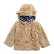 MINI BODEN Cozy Animal Faux Shearling Jacket 童款仿羊羔绒外套