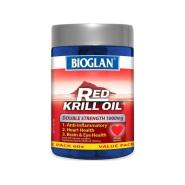 【史低价】Bioglan Red Krill Oil 红磷虾油 1000mg 60粒