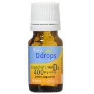 限时高返16%!【中亚Prime会员】Ddrops 400 IU 婴儿维生素D3滴剂 90滴