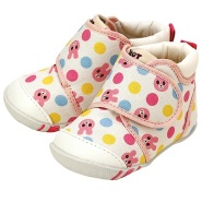 限时高返16%!【中亚Prime会员】Mikihouse Hot Biscuits 婴幼儿学步鞋