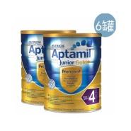 【6罐免邮套装】Aptamil 爱他美 金装版婴幼儿奶粉 4段 2岁+ 900g*6罐装
