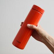 【中亚Prime会员】Tiger 虎牌 梦重力轻量不锈钢保温杯 500ml 橙色