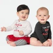 Carter's 卡特美国官网:精选情人节特别款儿童服饰等