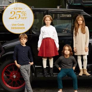 Gilt:精选 Burberry、Stella McCartney 等英国设计师品牌童装