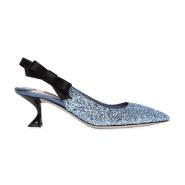 【上新】MIU MIU 2018 春夏新款带闪猫跟单鞋