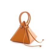 超小众美包!Nita Suri 18年新款 金字塔造型手提包