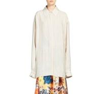 Acne Studios  条纹款 oversized 宽松衬衫