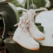 新年红有折!Nike 耐克 SF AF1 女士高帮运动鞋