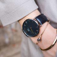 下单立减¥200!Daniel Wellington 丹尼尔·惠灵顿 DW00100141 中性款黑色皮带手表
