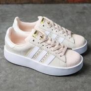 8.5以上有码!adidas Originals 三叶草 SUPERSTAR BOLD 女士休闲运动鞋